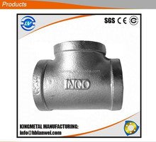 Malleable Iron pipe fittings tees banded equal 90 degree Alibaba express hot