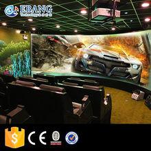 Гуанчжоу крытая спортивная площадка оборудование 5d кинотеатр с самым лучшим кинопроектор