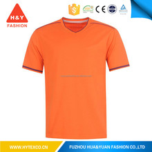 wholesale good quality v-neck popular manufactures t shirt---7 years alibaba experience