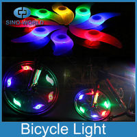 Battery operated decorating LED bicycle wheels light small led waterproof light cycle bike lights