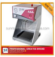 high qualitydigital touch controled dental lab vacuum mixer