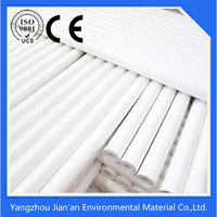 White 100% polyester stitch bond fabric to reinforce roof coating