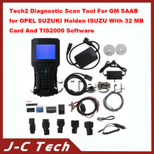 Tech2 Diagnostic Scan Tool For GM SAAB for OPEL SUZUKI Holden for ISUZU With 32 MB Card And TIS2000 Software