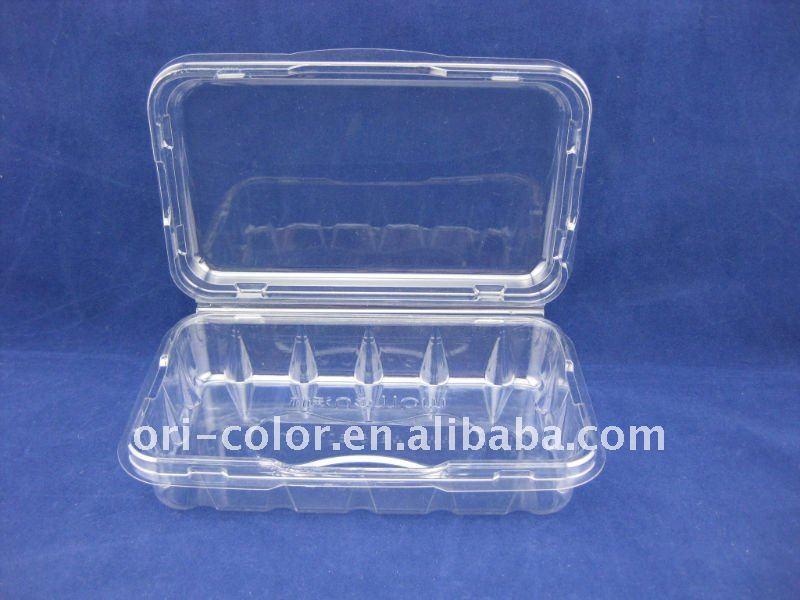 Caja de pl stico transparente embalaje cajas - Caja transparente plastico ...