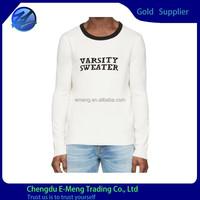 New Trendy Latest Design Custom Print Long Tshirt for Male