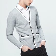 High Quality Knit Cardigan Men's Spring Fashion Sweater