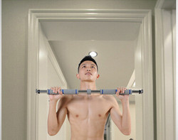 Top Selling Gym horizontal bar Door gym pull up bar with resistance band