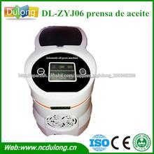 CE aprobó DL-ZYJ06 pequeña máquina de la prensa de aceite automática