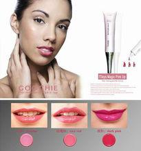 permanent makeup cosmetics lip gloss 7days magic pink up