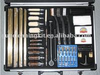 61 piece gun cleaning kit set