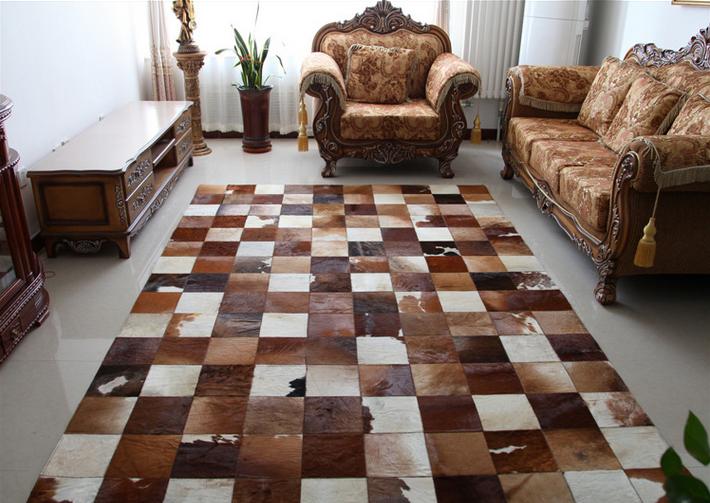 chine usine vache en cuir tuiles tapis pour hall d 39 entr e chambre tapis id de produit. Black Bedroom Furniture Sets. Home Design Ideas