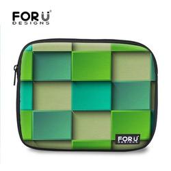 FOR U DESIGN Geometric Series Neoprene Tablet Sleeve Laptop Computer Case with Custom Printing