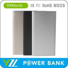 Super Slim Portable Power Bank 5000mah Mobile Phone ; Portable Power Bank 5000mah For Mobile Phone