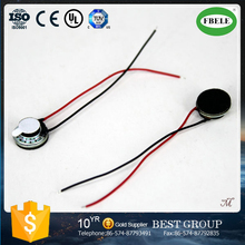 FB10A 2015 New Double-sided gum 10mm 8ohm mylar speaker with wire (FBELE)