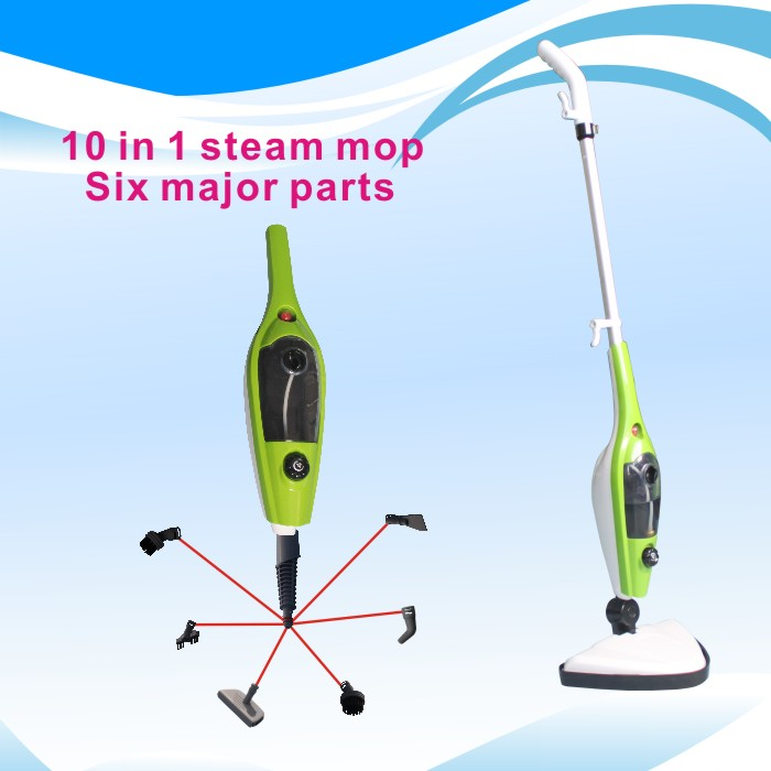 Steam cleaner as seen on tv 10 in 1 steam mop x10 buy for Steam mop 17 in 1