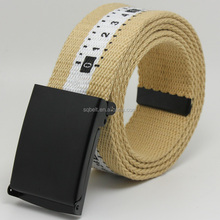 Military canvas belt with metal buckle fashion high quality for man&wow&man