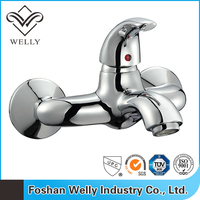 Foshan New Surface Wall Mounted Modern Bath Shower Mixer Faucet