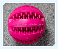 Dog Toys of Rubber Squeaky Training Ball