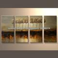 el más nuevo hecho a mano hermoso paisaje pinturas al óleo para la decoración