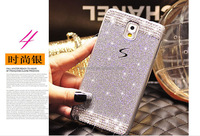 Luxury hard plastic cell Back Women Case Handmade Bling Diamond decorative cell phone cases for SumSung/iPhone