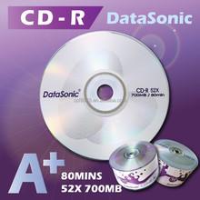 تايوان 52x فارغة cd- r a + cd فارغة للصناعات المحدودة