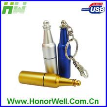 Custom Mini Metal Bottle USB Flash Drive And Free Sample