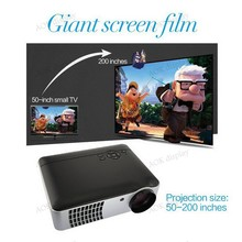 4200 Lumens 1080p LED 3D HD Office Home Theater Projector 1280x800 Resolution HDMI USB Port For Business Education Home Theater