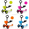 Kids colorful design mini kick scooter for sale baby toys