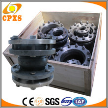 China Supplier Low Price Expansion Joint Rubber Bellows Pn16 With Steel Flange