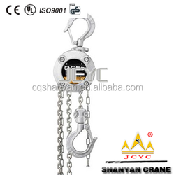 1 ton stainless steel chain block wholesale