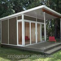 modern container prefab house/prefabricated modular homes