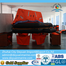 Throw-overboard Inflatable Life Raft For 6 Person from factory