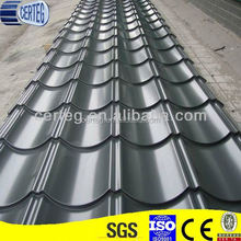 Galvanized Curved Color Metallic Roof Tile for Villa