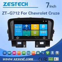 car gps navigation system for chevrolet cruze touch screen dvd player with auto radio entertainment system