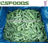 Chinese 2013 new crop frozen okra ( whole / cuts )