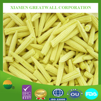 Frozen fresh baby corn whole from China
