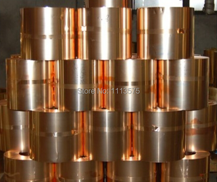C beryllium bronze with copper alloy thin