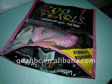 Packing plastic bag stand up resealed bag for Pet food