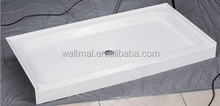 "UPC 32""x60"" 3 side tile flange shower base for Canadian and USA with full sizes"