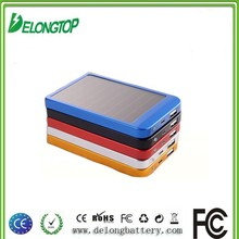 factory top sale rohs solar powered cell phone battery charger fast for EU market