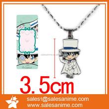 Detective Conan cheap anime promotion metal necklace
