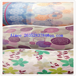 Textiles POLYESTER fabric/100% polyester 3d curtains
