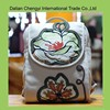 Wholesale trendy canvas day backpack with embroidery printing