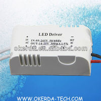 4-7W 85-265V home light LED power supply Driver