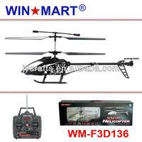 WM-F3D136 50cm medium size 3ch gyro rc helicopter
