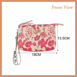 Hot Sale Wrist Bag Clutch Bag With Printed Flower Pattern
