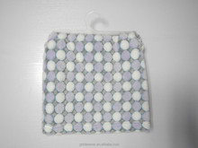 Purple and white dot embossed sleep blanket flannel fleece blanket baby blanket