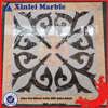 Cheap Price Square Marble Pattern Tile Flooring Classic Design Pure White Marble BKG