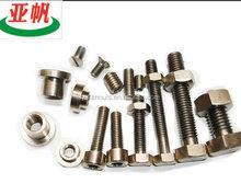 International standard size bolt and nut