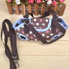 Coffee And Pink Color Pet Travel Bag